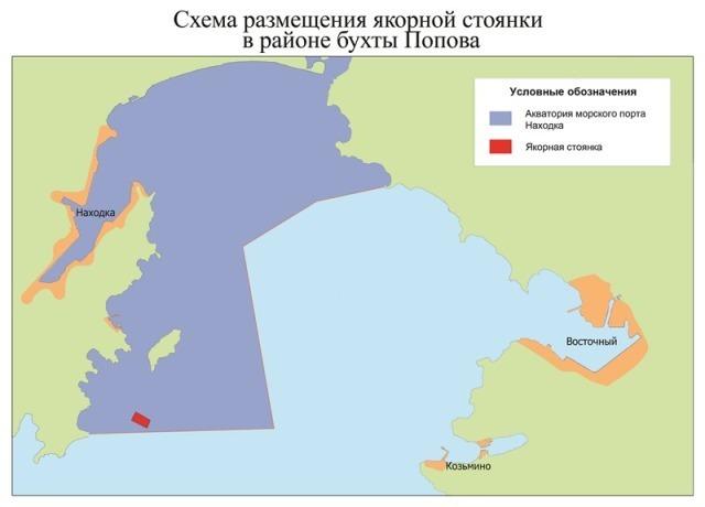порту Находка (карта)