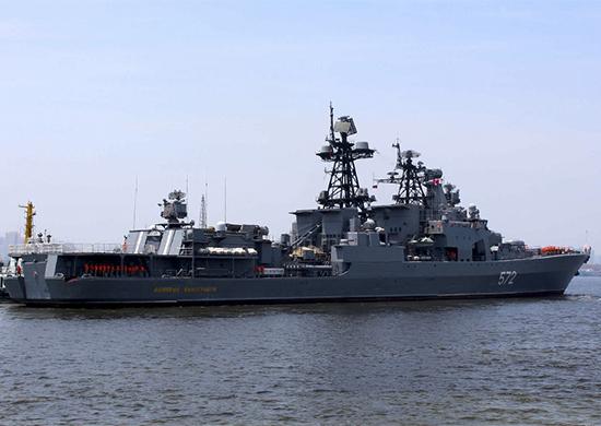 Стартовала энергичная фаза российско-китайских учений «Морское взаимодействие»