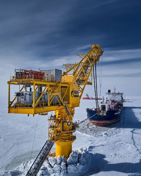 Gazprom Neft's Arctic Gate terminal exported almost 4 5 mln