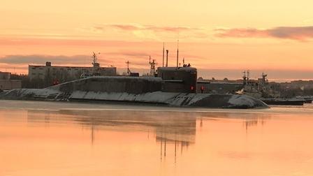 ВСеверодвинске завершен ремонт атомного подводного ракетоносца «Тула»