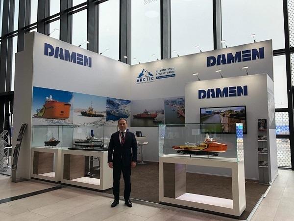 Damen presents Arctic shipbuilding at 'Arctic: Territory of Dialogue