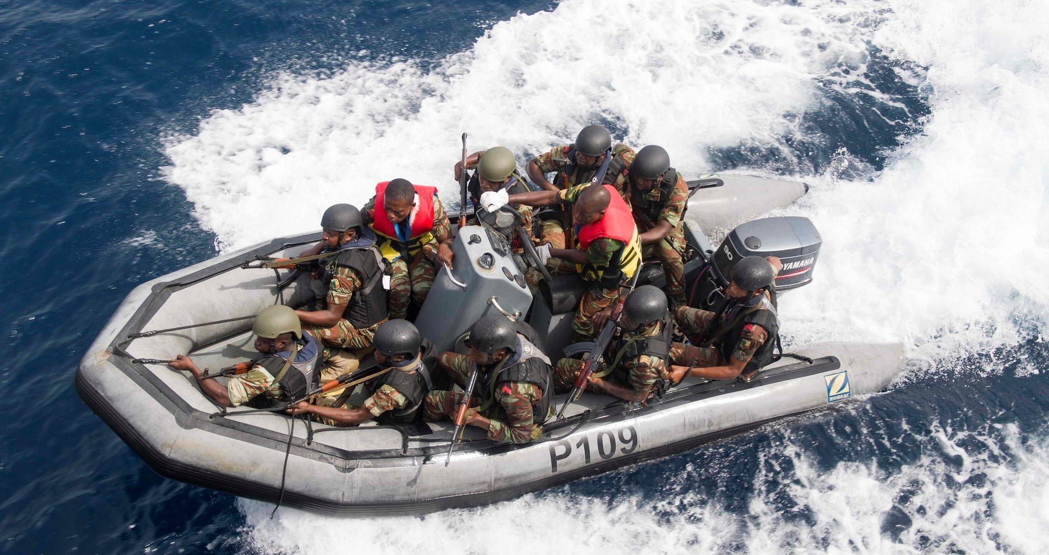Спецназ против пиратов