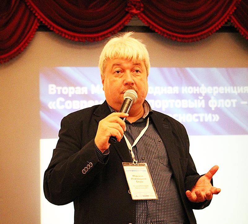 Модератор Геннадий Егоров