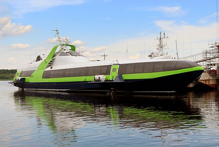 Vympel Shipyard Launches Third High Speed Passenger Carrying Hydrofoil Of Kometa 120m Design