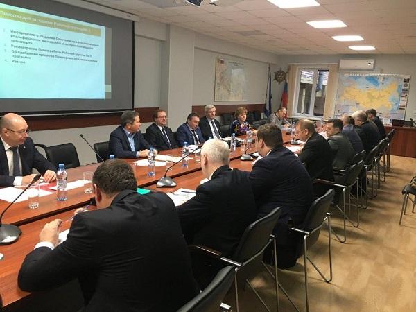 заседание рабочей группы Совета по профессиональным квалификациям на морском и внутреннем водном транспорте
