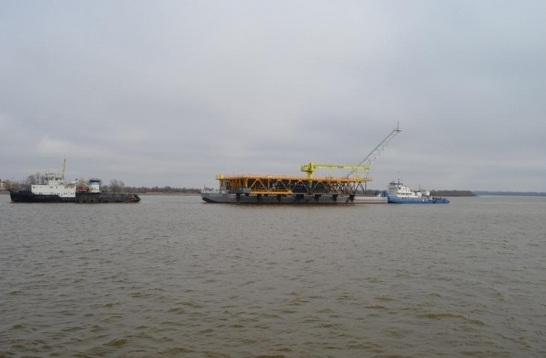 морского порта Астрахань в