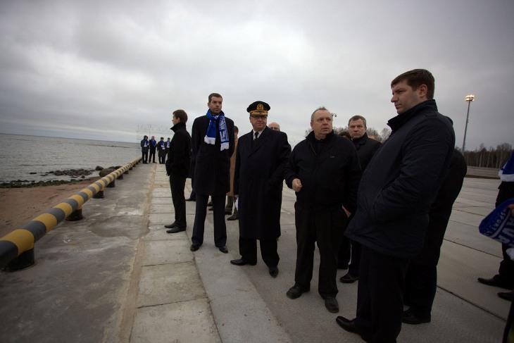 Открытия морского терминала «Новая Гавань»