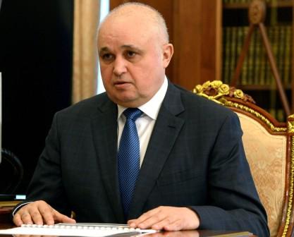 Губернатор Кемеровской областиРФ подал вотставку